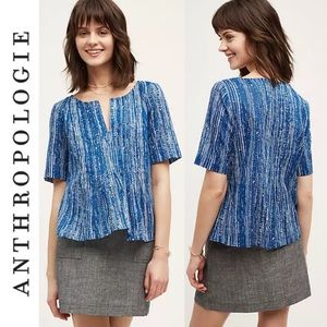 Anthropologie Tops - Anthropologie Maeve Orchid Island Blouse